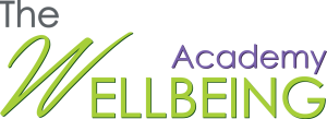The Wellbeing academy GREEN purple PNG no background